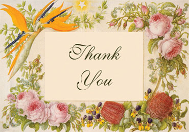 free thank you card