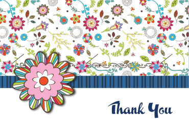 free thank you card online